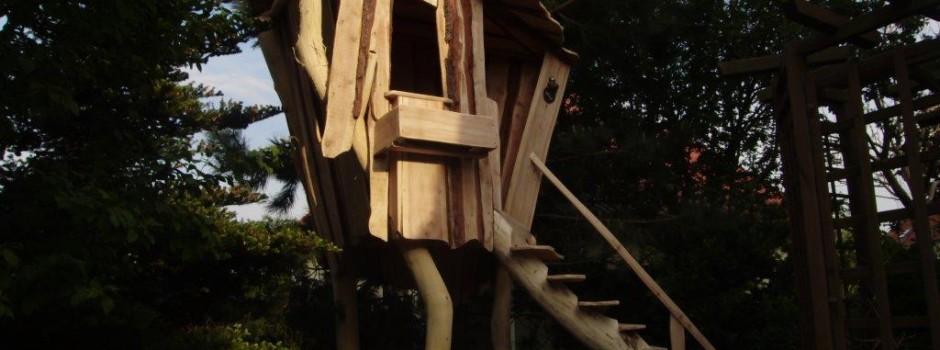 Baumhaus Maxen - Spielhaus für Knder für den Garten aus Dresden