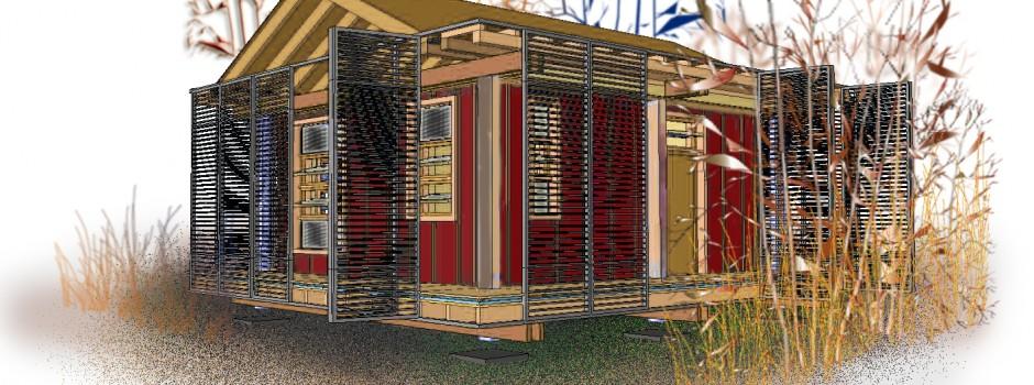 Kleinsthäuser - Gartenhäuser aus Holz