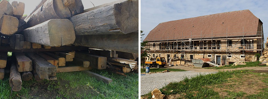 Sanierung-Fachwerk-Verwendung-Altholz