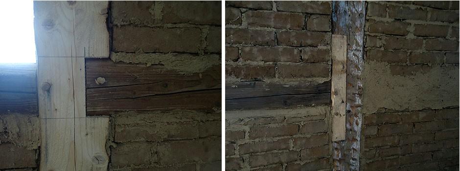 Sanierung-Fachwerk-Holznägel-alt-und-neu