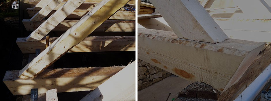 Aufbau-Satteldach