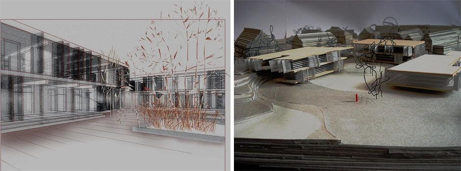 Entwurfskonzept-fuer-eine-Holzhausbaukonstruktion