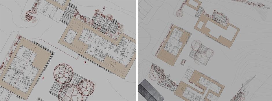 Grundrisse-für-ein-Holzhauskonzept