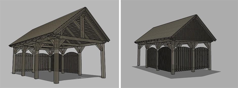 Planung-eines-Einzel-Carport-mit-Satteldach